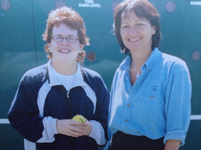 Cathi Lamberti and Billie Jean King